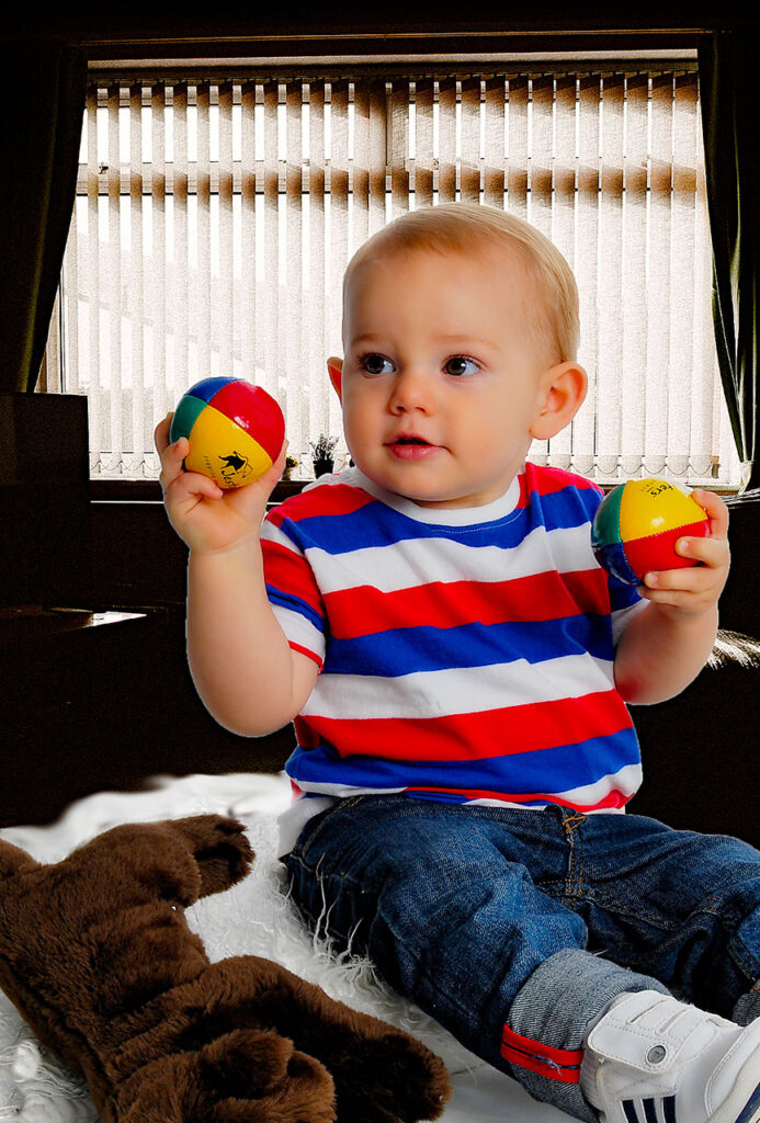 Cute baby photograph